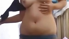 Bihari indian girl doing striptease and dancing naked in bhojpuri song